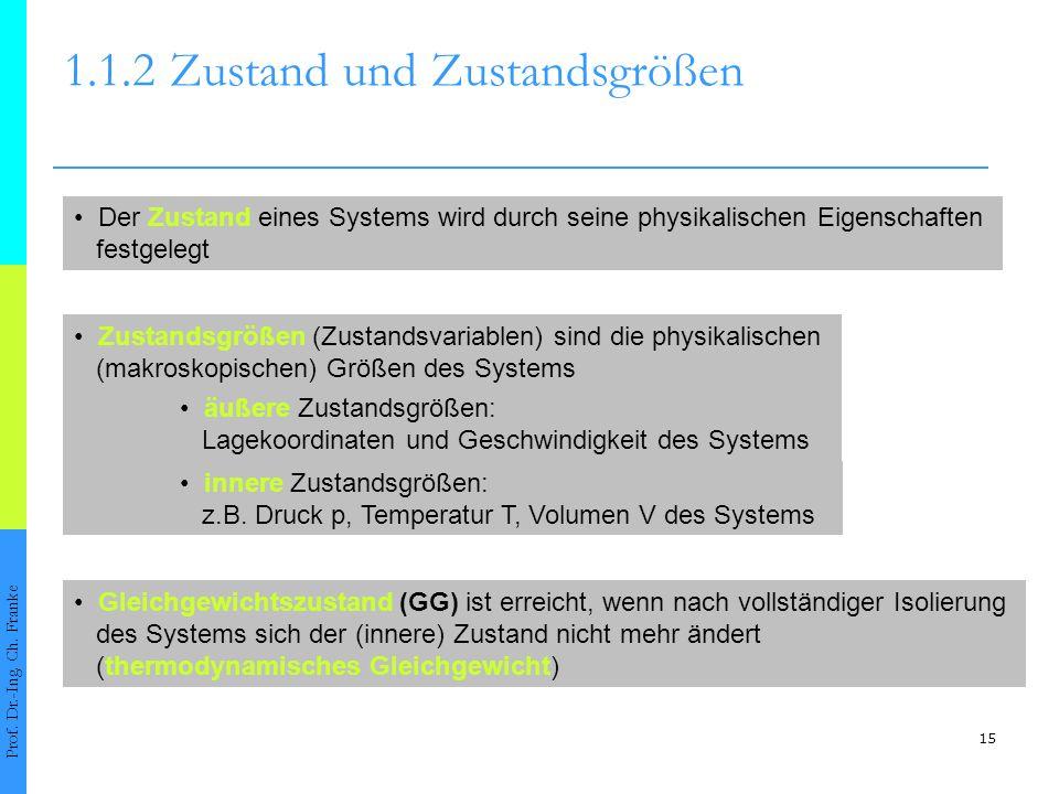 1.1.2 Zustand und Zustandsgrößen