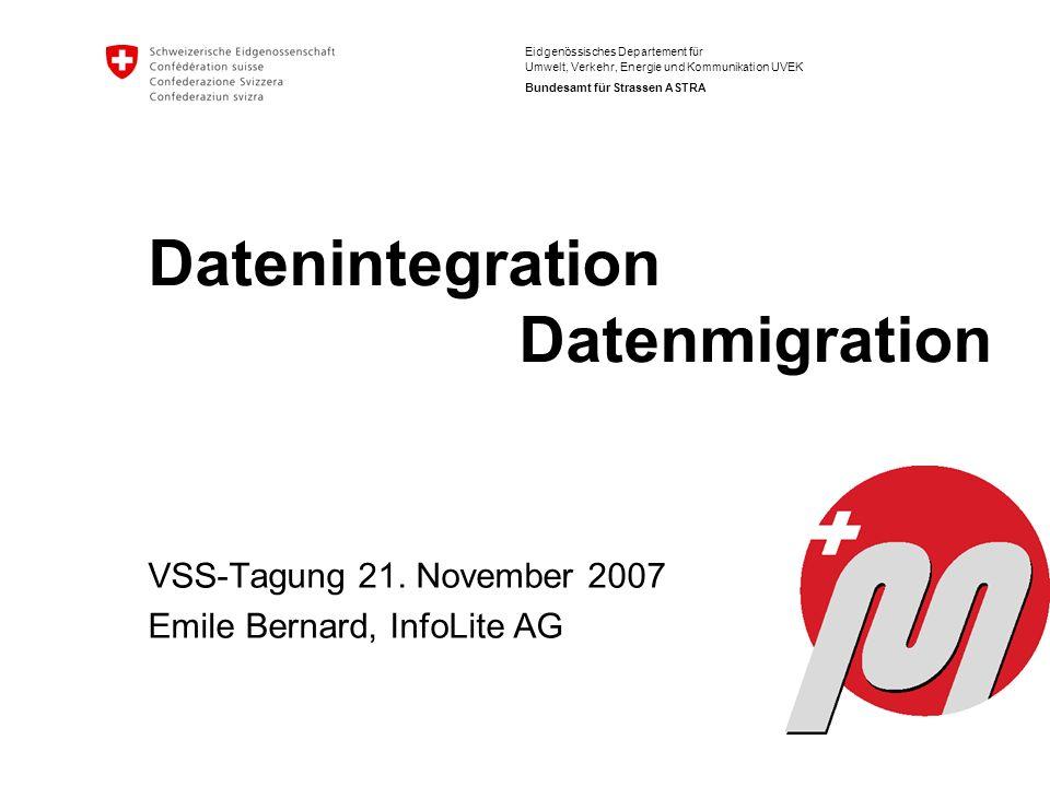 Datenintegration Datenmigration