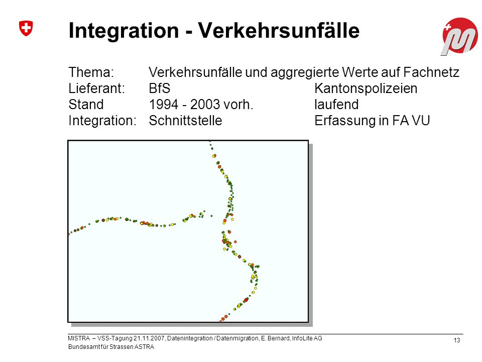 Integration - Verkehrsunfälle
