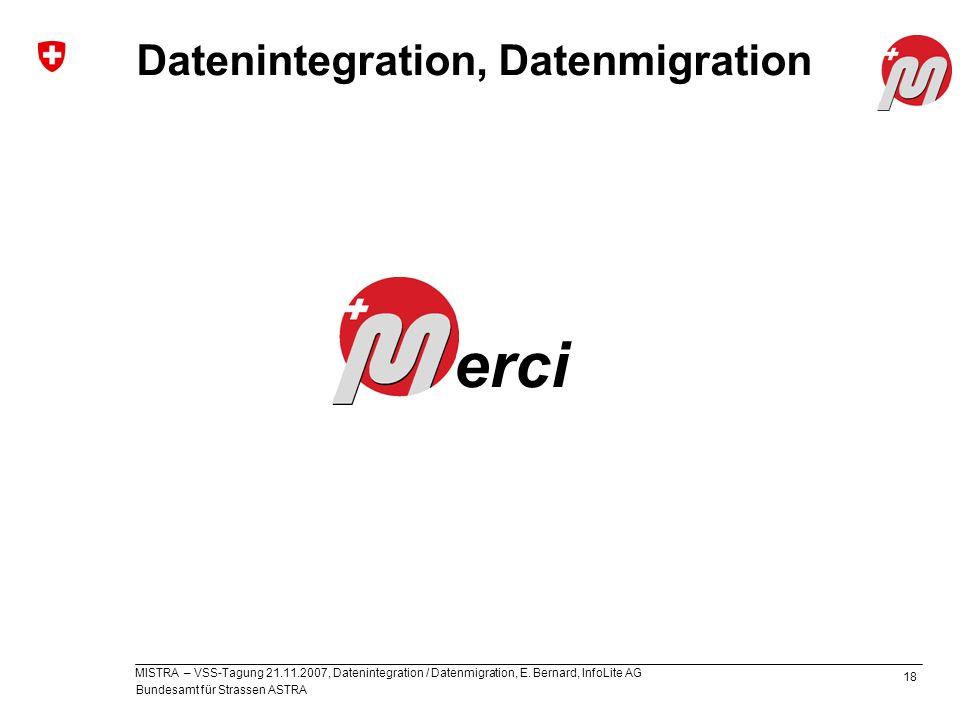 Datenintegration, Datenmigration
