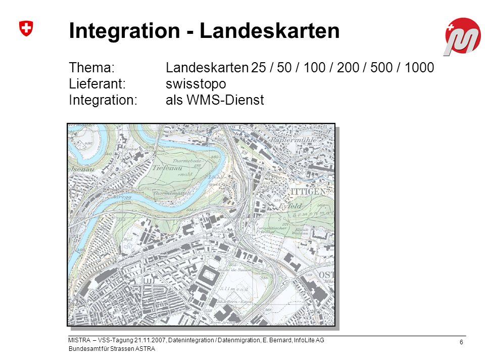 Integration - Landeskarten