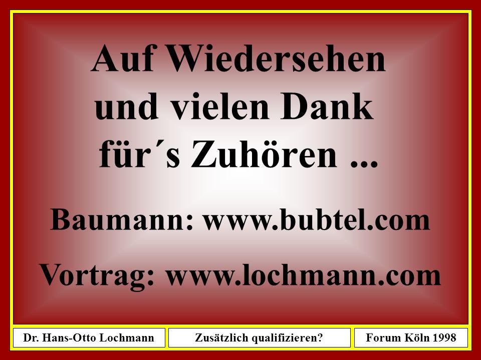 Baumann: www.bubtel.com Vortrag: www.lochmann.com
