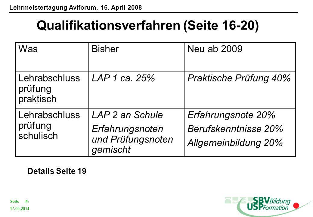 Qualifikationsverfahren (Seite 16-20)