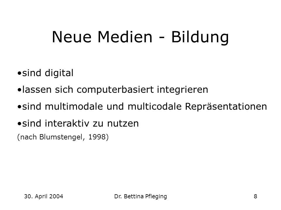 Neue Medien - Bildung sind digital