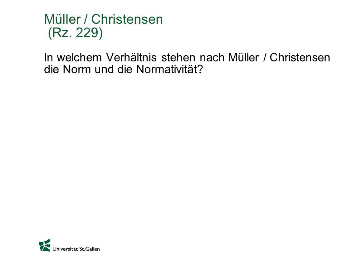 Müller / Christensen (Rz. 229)