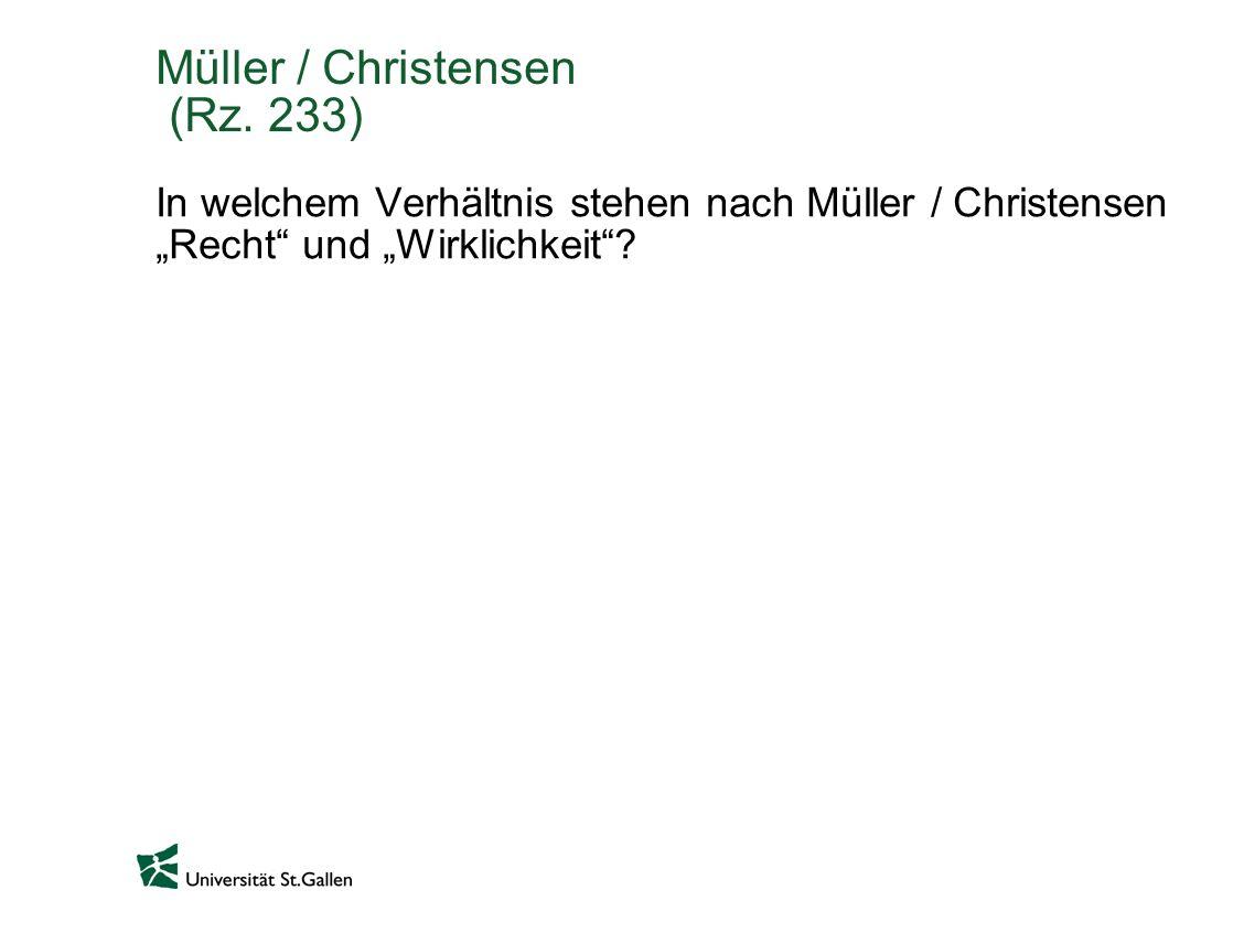 Müller / Christensen (Rz. 233)
