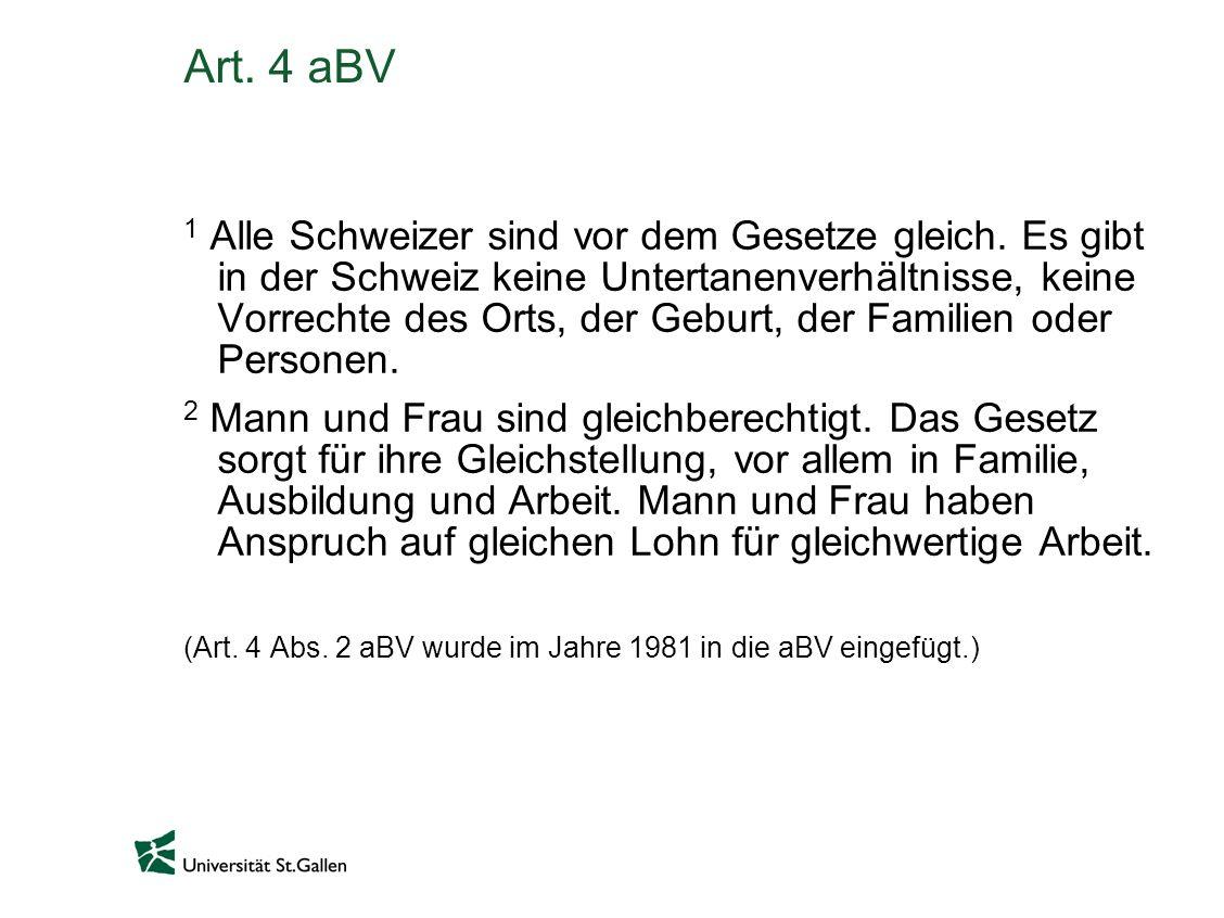 Art. 4 aBV