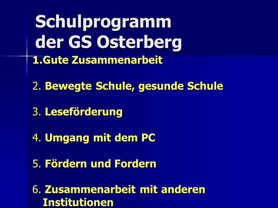 Schulprogramm der GS Osterberg