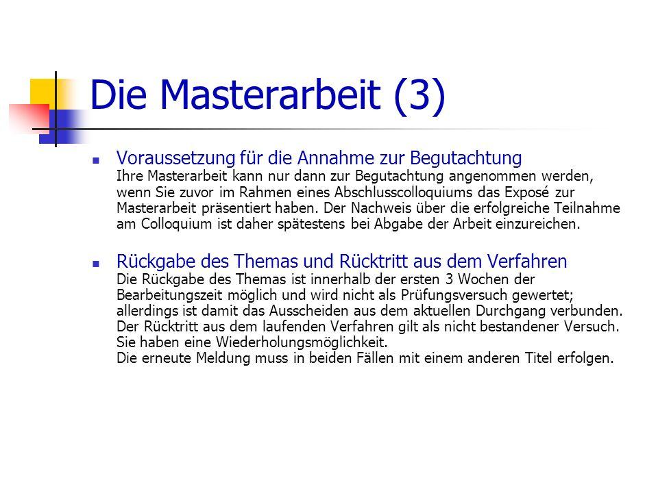 Die Masterarbeit (3)