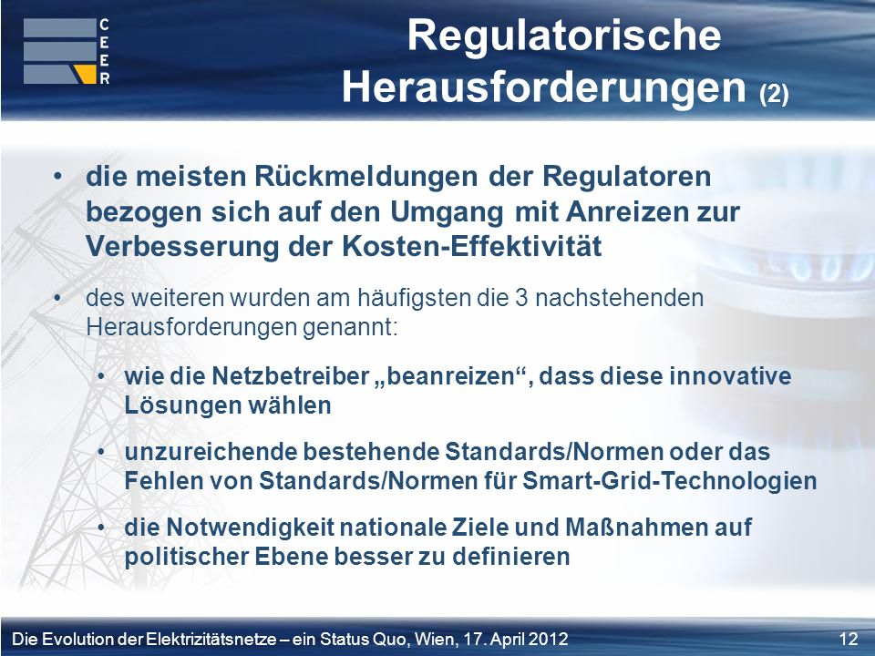 Regulatorische Herausforderungen (2)