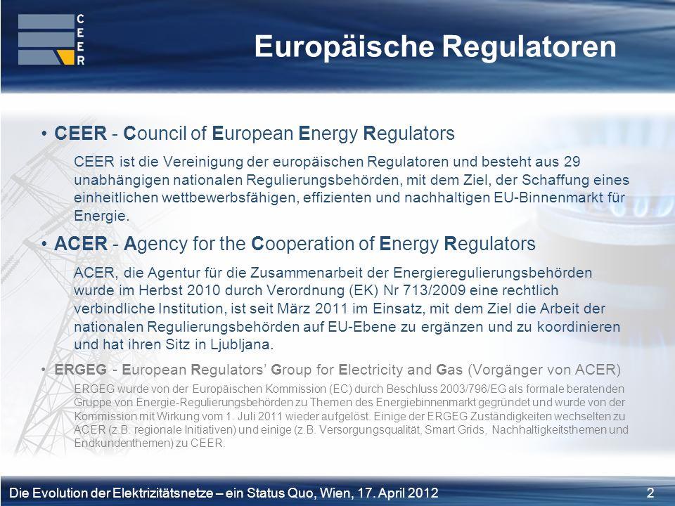 Europäische Regulatoren