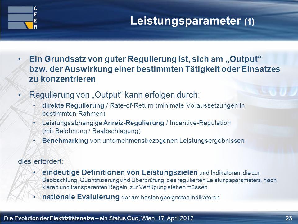 Leistungsparameter (1)
