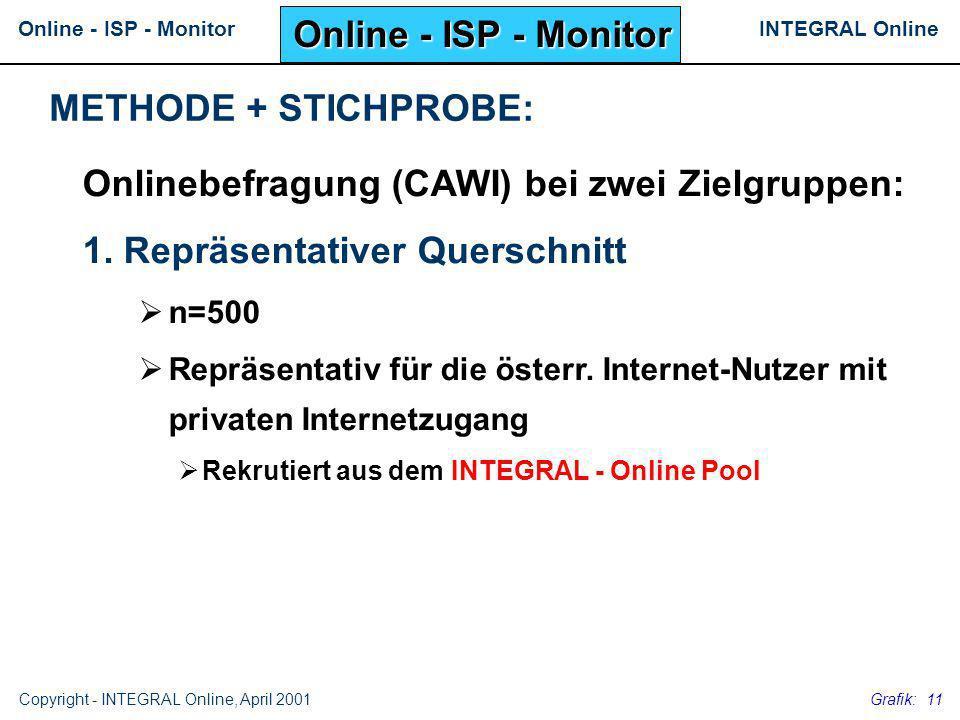 Onlinebefragung (CAWI) bei zwei Zielgruppen: