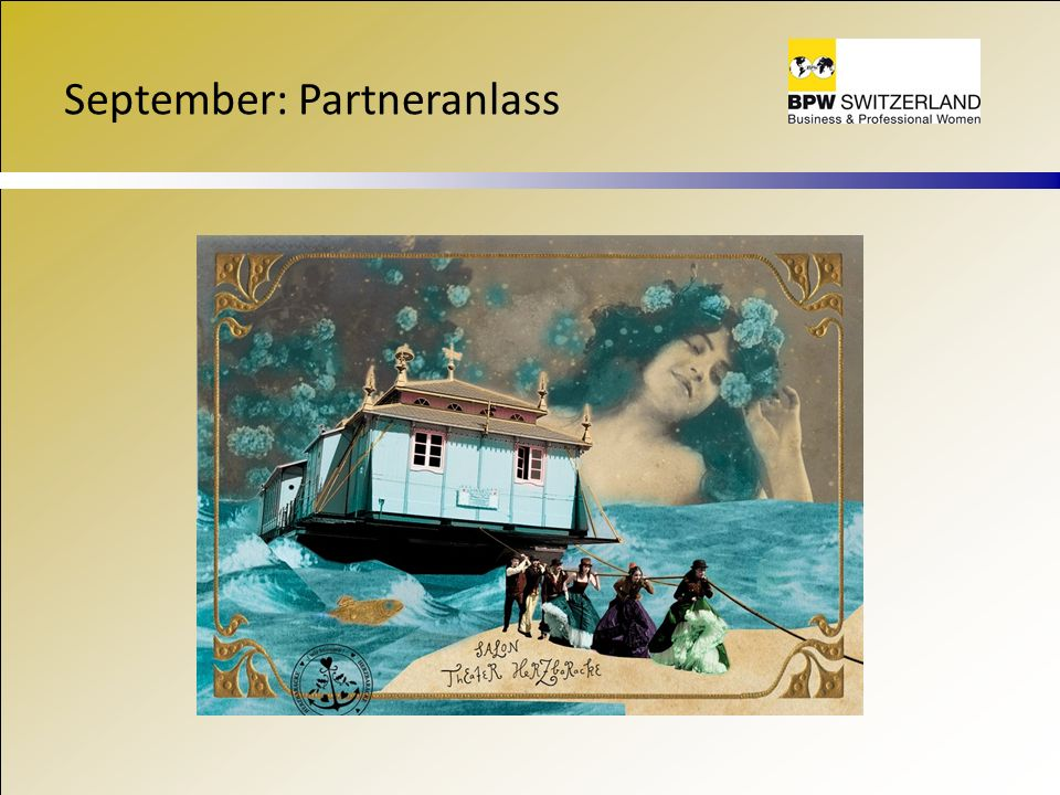 September: Partneranlass