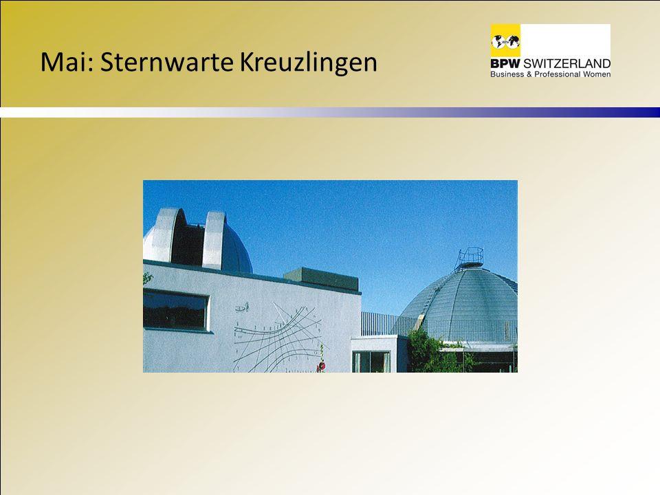 Mai: Sternwarte Kreuzlingen