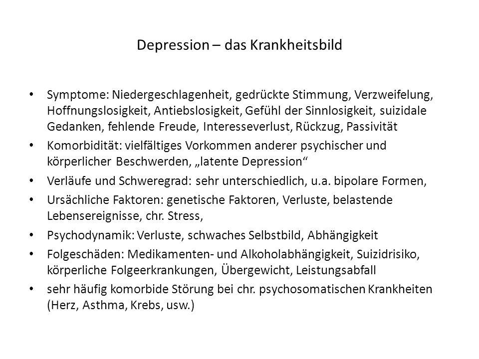 Depression – das Krankheitsbild