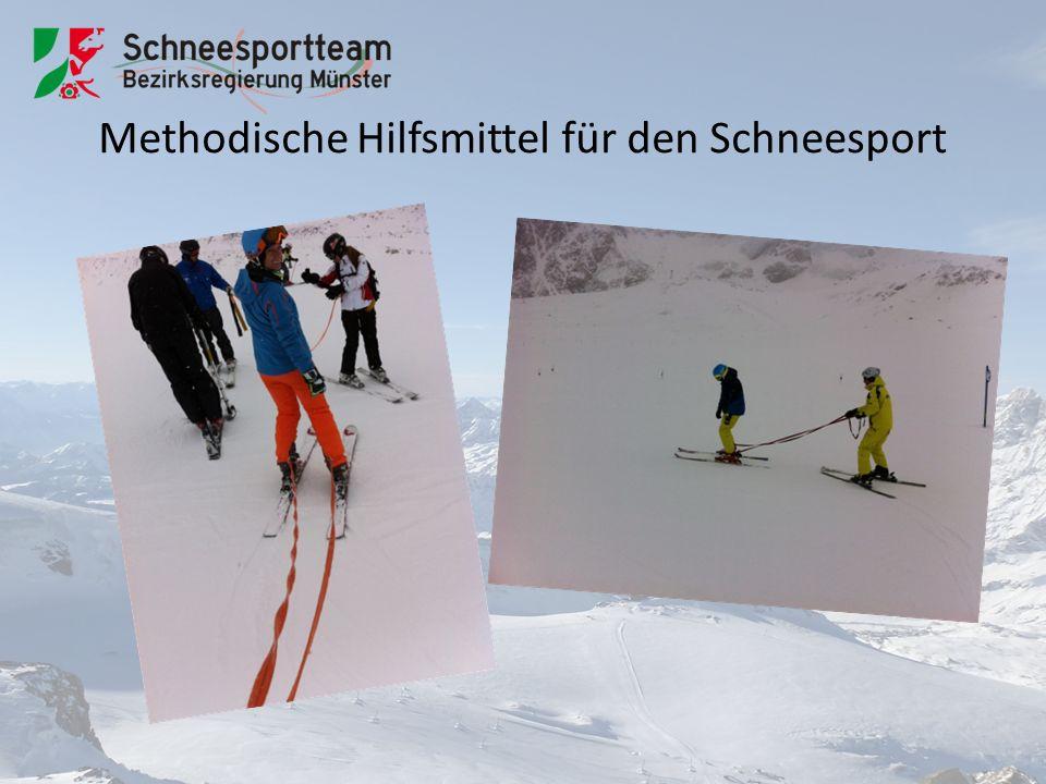 Methodische Hilfsmittel für den Schneesport