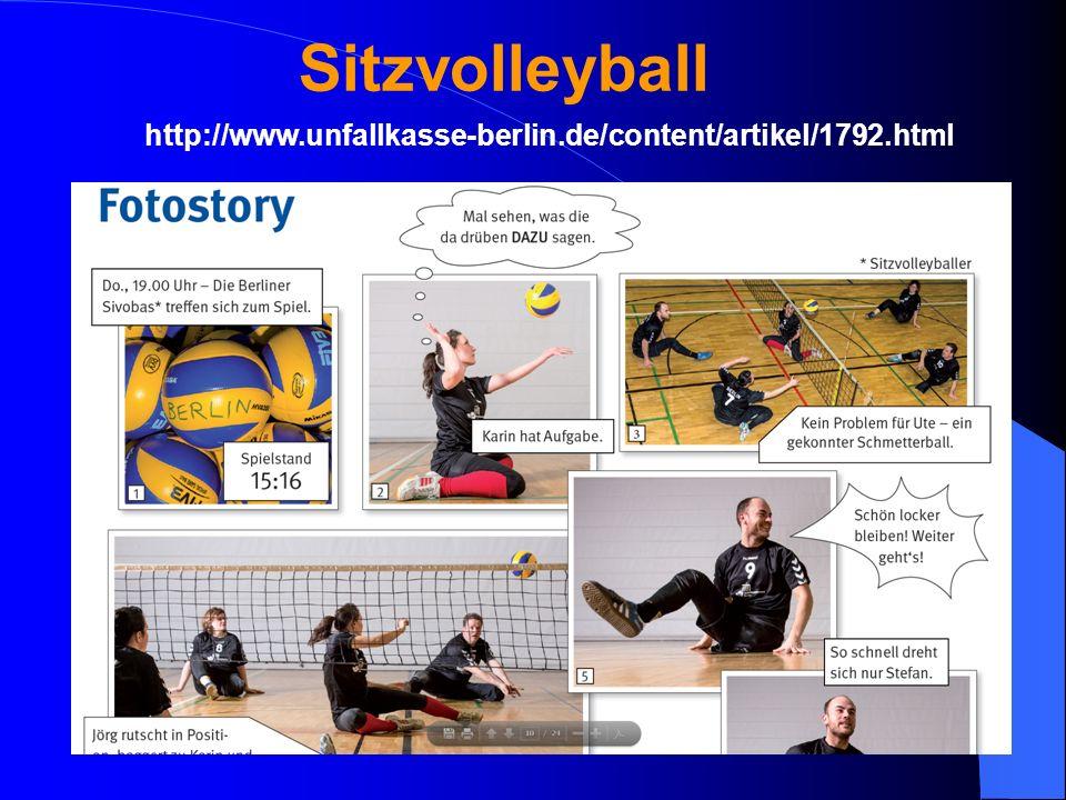 Sitzvolleyball http://www.unfallkasse-berlin.de/content/artikel/1792.html