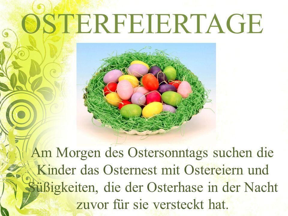 OSTERFEIERTAGE