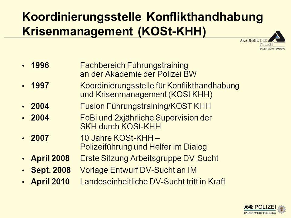 Koordinierungsstelle Konflikthandhabung Krisenmanagement (KOSt-KHH)