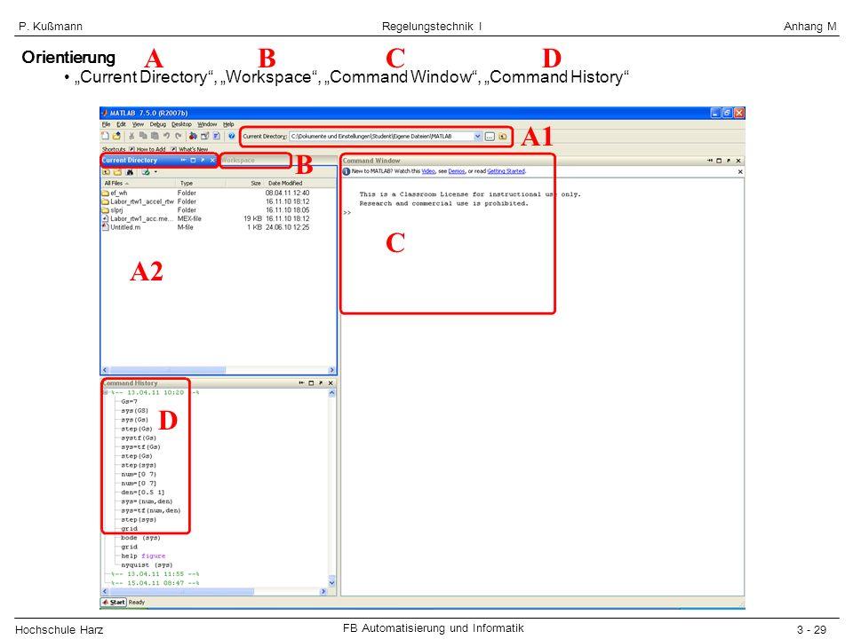 A B C D A1 B C A2 D Orientierung