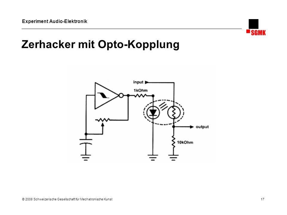 Zerhacker mit Opto-Kopplung
