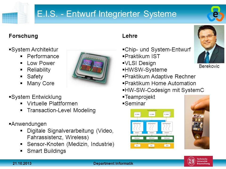 E.I.S. - Entwurf Integrierter Systeme