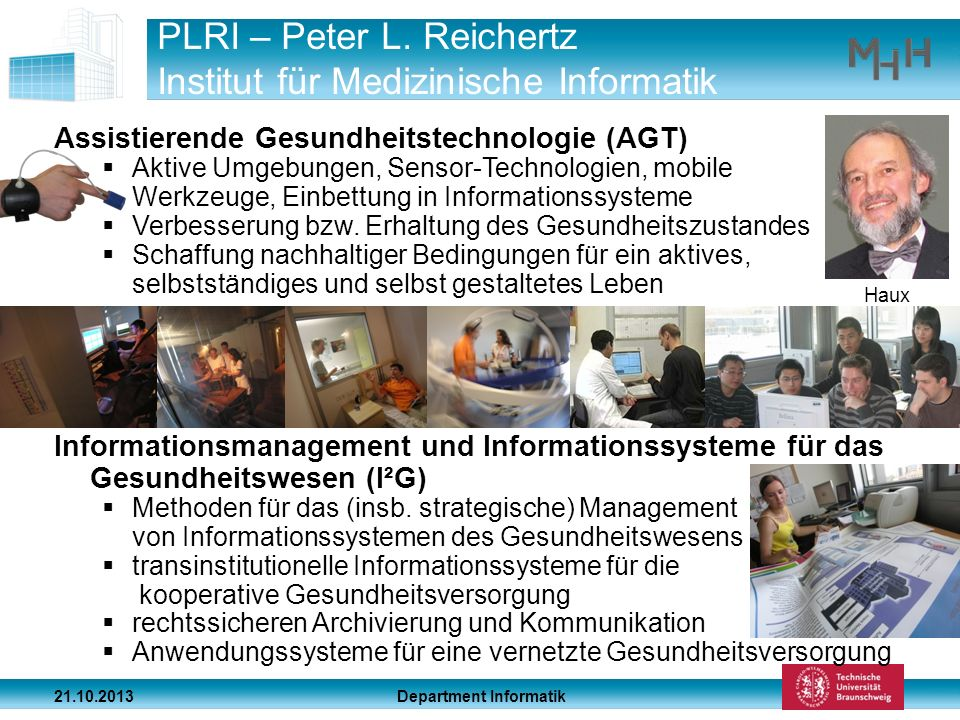 PLRI – Peter L. Reichertz Institut für Medizinische Informatik