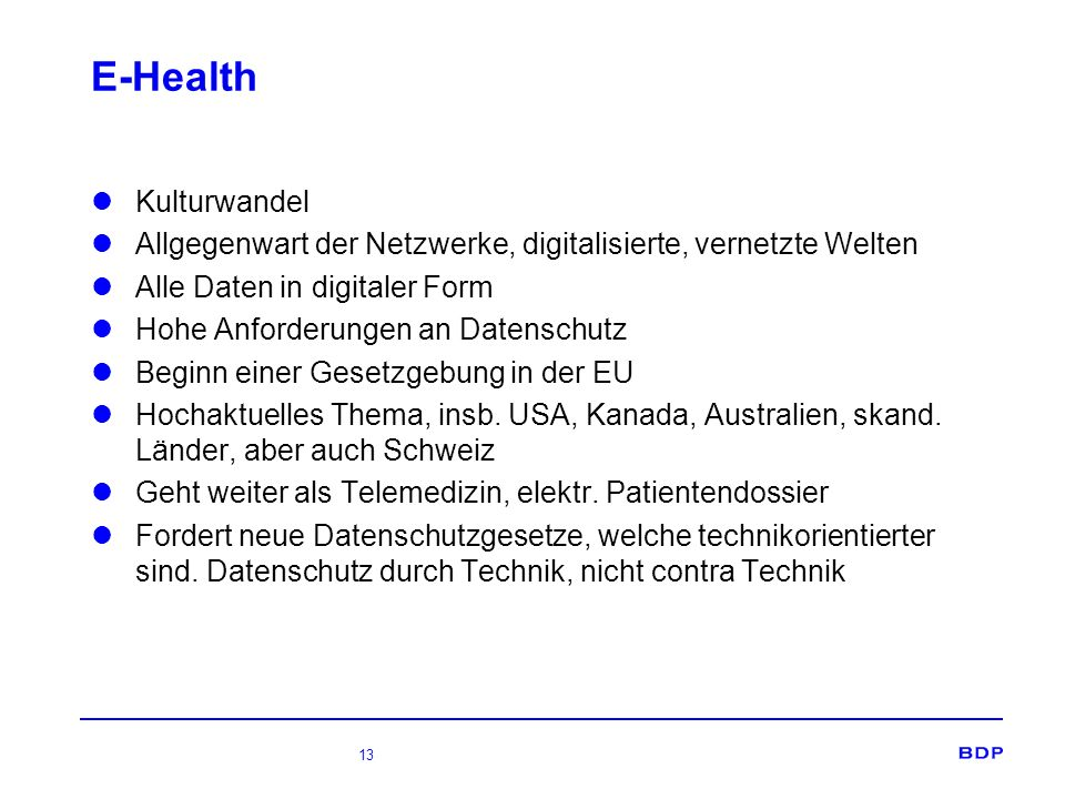 E-Health Kulturwandel