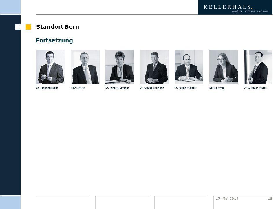 Standort Bern Fortsetzung template Haus- farben Zusatz- farben SCG …
