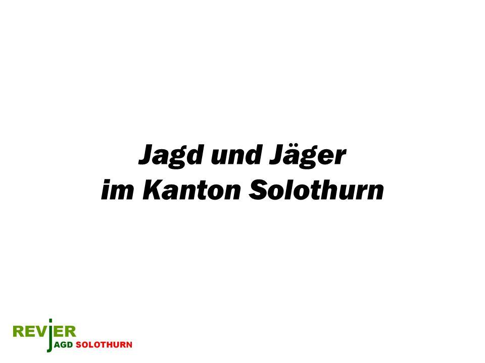 Jagd und Jäger im Kanton Solothurn