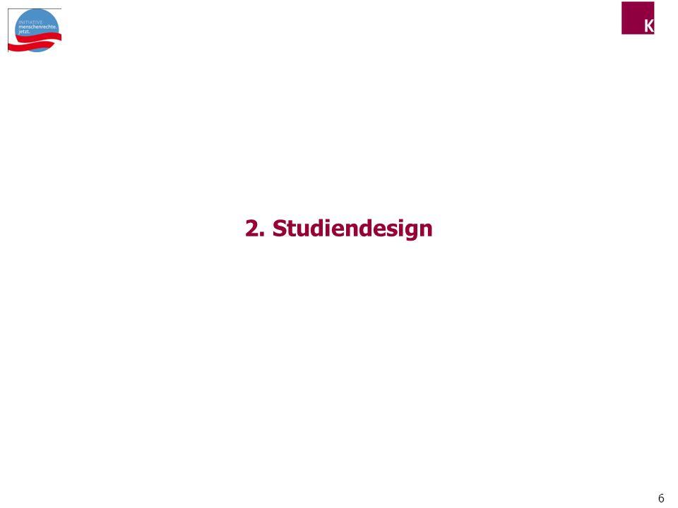 2. Studiendesign 6