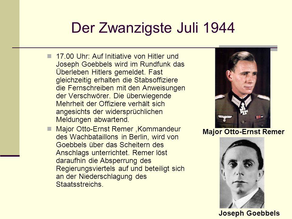Der Zwanzigste Juli 1944