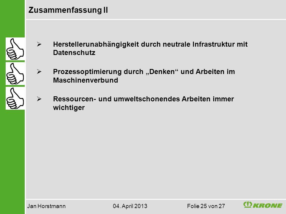 Jan Horstmann 04. April 2013 Folie 25 von 27