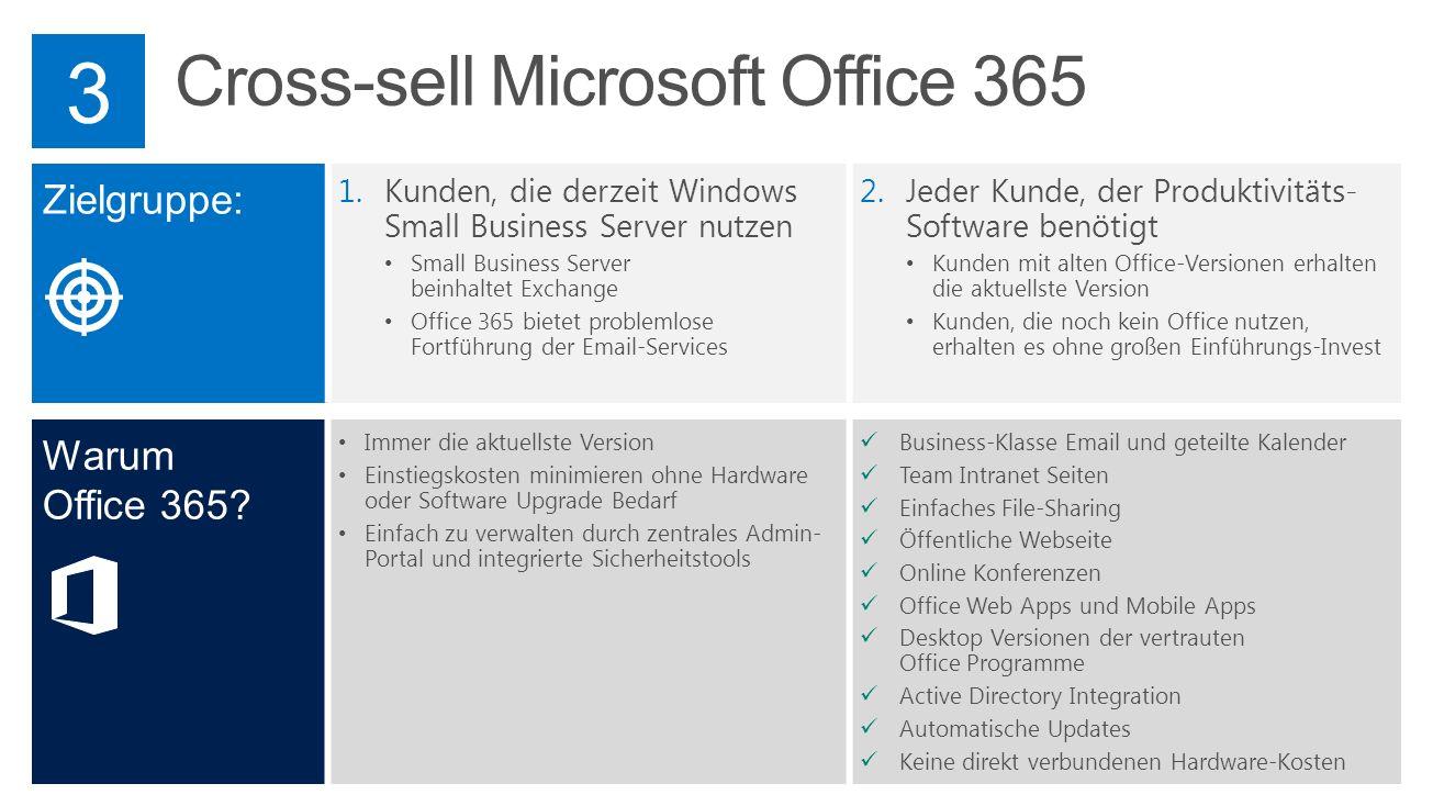 Cross-sell Microsoft Office 365