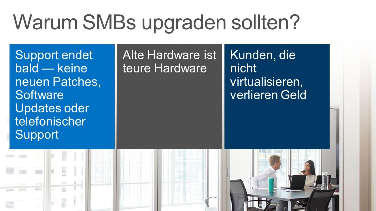 Warum SMBs upgraden sollten