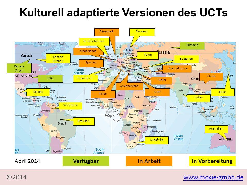 Kulturell adaptierte Versionen des UCTs