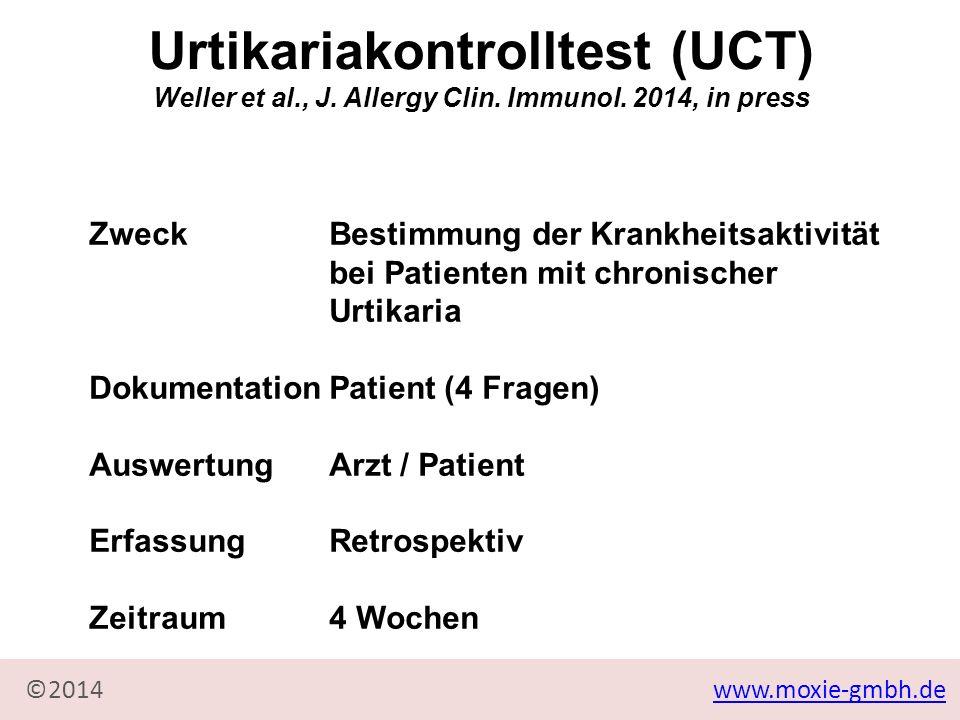 Urtikariakontrolltest (UCT)