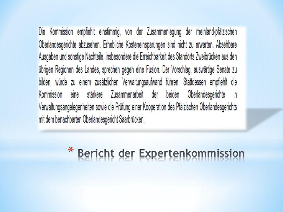 Bericht der Expertenkommission