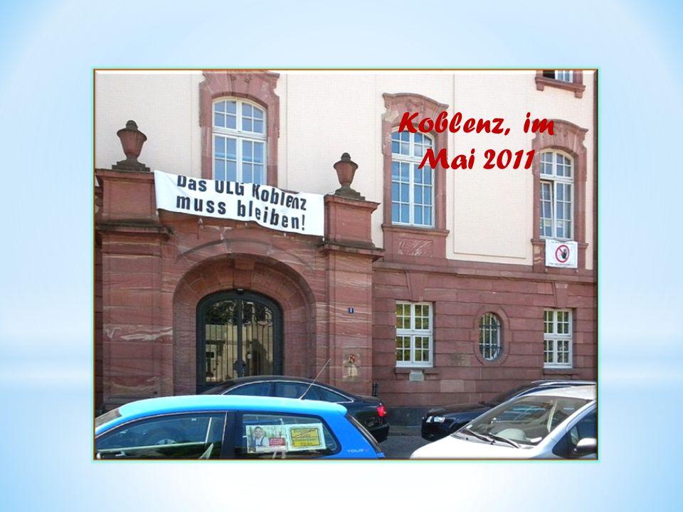 Koblenz, im Mai 2011