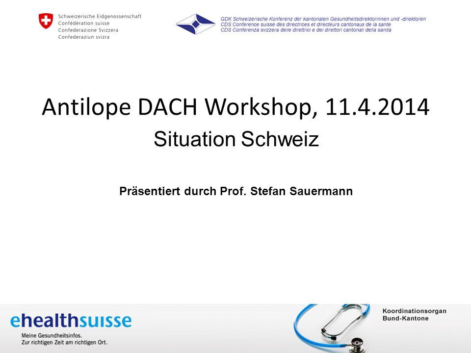 Antilope DACH Workshop, 11.4.2014