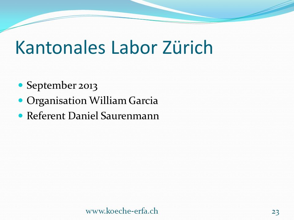 Kantonales Labor Zürich