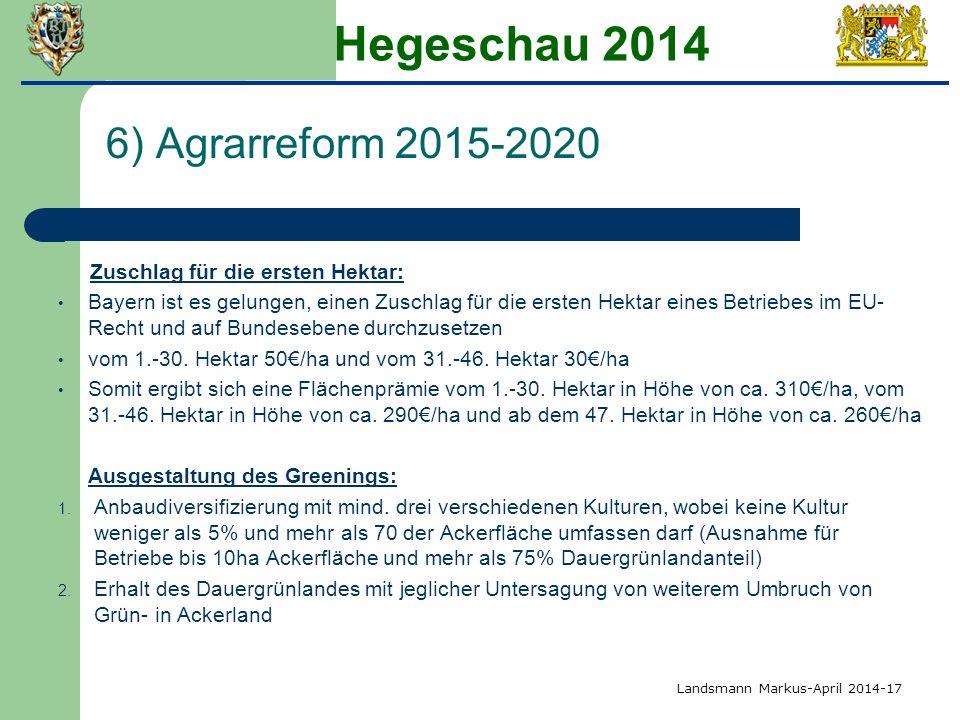 Hegeschau 2014 6) Agrarreform 2015-2020