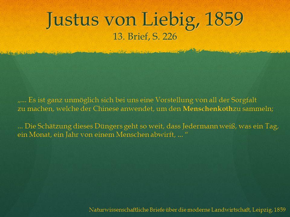 Justus von Liebig, 1859 13. Brief, S. 226