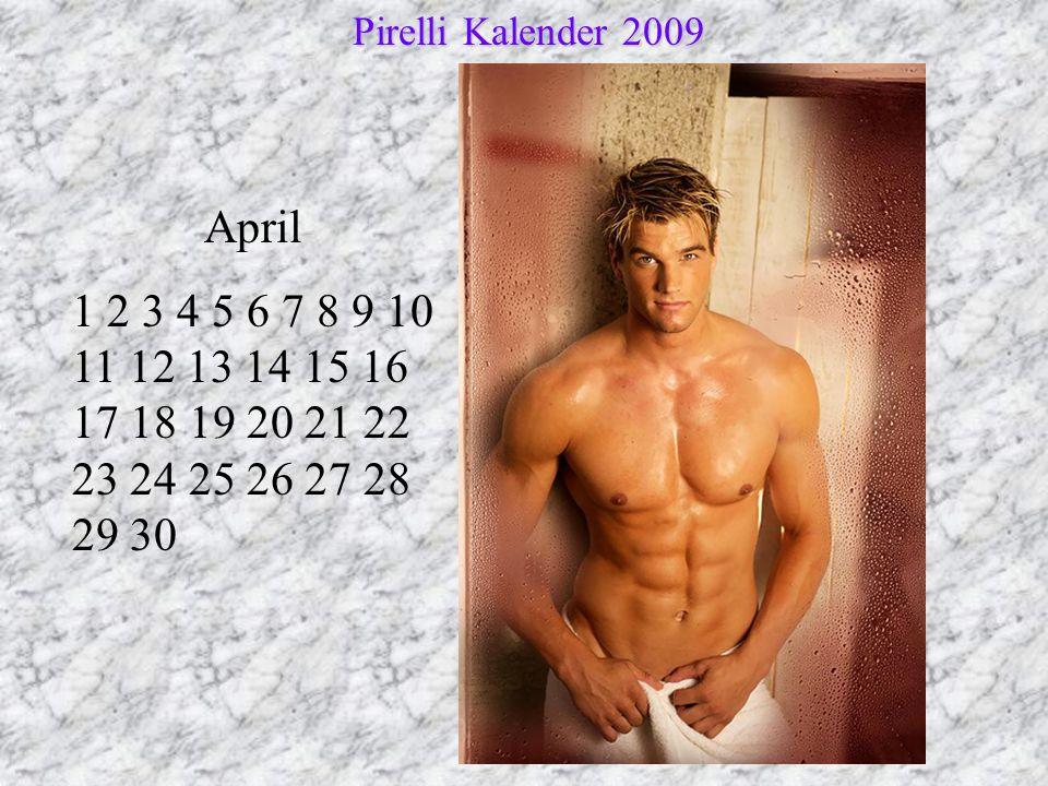 Pirelli Kalender 2009 April.