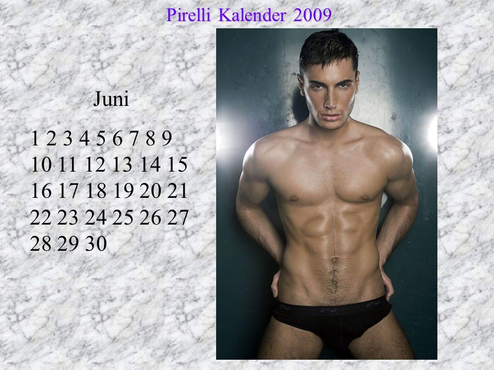 Pirelli Kalender 2009 Juni.