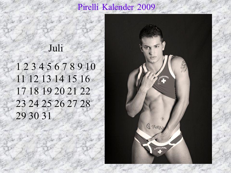 Pirelli Kalender 2009 Juli.