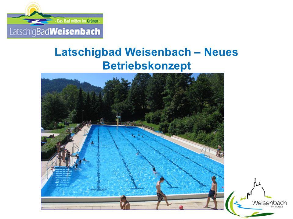 Latschigbad Weisenbach – Neues Betriebskonzept