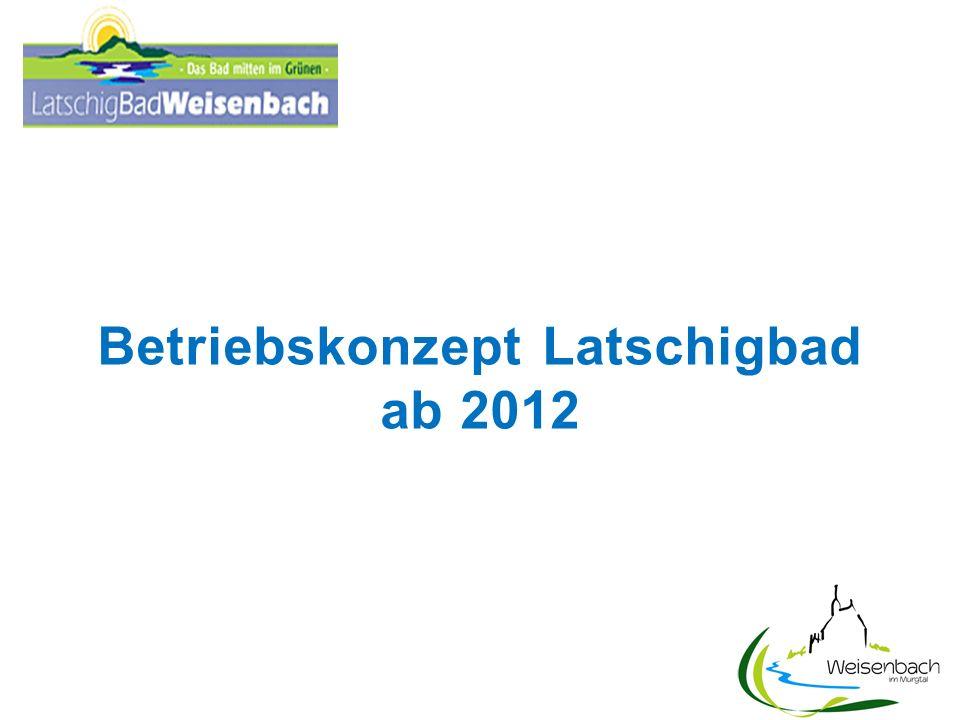 Betriebskonzept Latschigbad