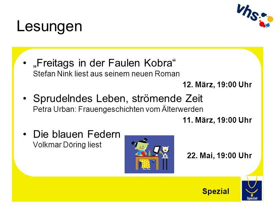 """Lesungen """"Freitags in der Faulen Kobra Stefan Nink liest aus seinem neuen Roman. 12. März, 19:00 Uhr."""